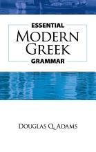 Essential Modern Greek Grammar PDF