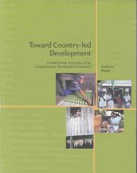 Toward Country Led Development Book PDF