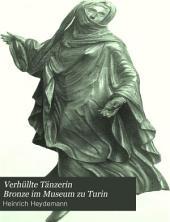 Verhüllte Tänzerin: Bronze im Museum zu Turin