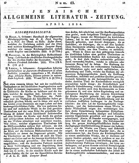Jenaische allgemeine Literatur Zeitung vom Jahre     PDF