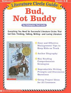 Literature Circle Guide Bud  Not Buddy Book