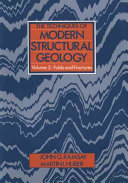 The Techniques of Modern Structural Geology PDF