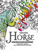 Amazing Horse Coloring Books for Adults