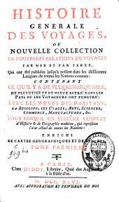 Histoire générale des voyages: Volume1