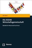 Die ASEAN Wirtschaftsgemeinschaft PDF