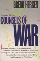 Counsels of War PDF