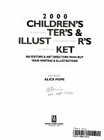 Children's Writer's and Illustrator's Market 2000