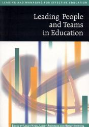 Leading People And Teams In Education Book PDF