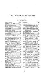 Botanical Gazette: Volumes 7-8