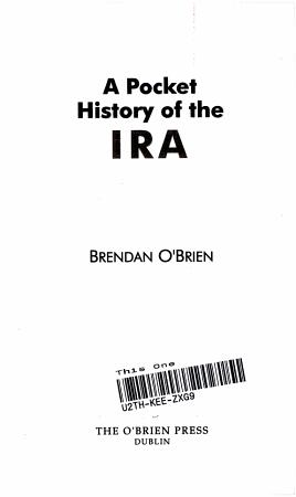 A Pocket History of the IRA PDF