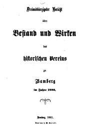 Geschichte der gelehrten Schulen im Hochstift Bamberg von 1007-1803: Beilagen