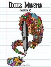 Doodle Monster-Malbuch 2