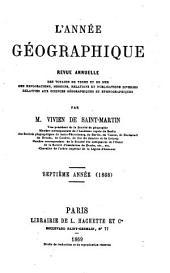 L'Année géographique