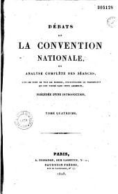Débats de la Convention nationale, ou analyse complète des séances, avec les noms de tous les membres, pétitionnaires ou personnages qui ont figuré dans cette assemblée