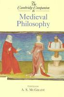 The Cambridge Companion to Medieval Philosophy PDF