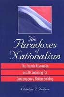 Paradoxes of Nationalism  The PDF