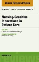 Nursing Sensitive Indicators  An Issue of Nursing Clinics  PDF