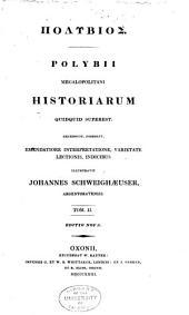 Polybii megalopolitani Historiarum quidquid superest: Volume 2