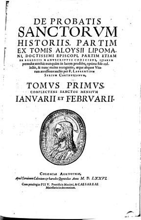 De probatis sanctorum historiis PDF