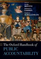 The Oxford Handbook of Public Accountability PDF