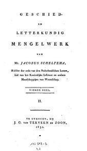 Geschied en Letterkundig Mengelwerk