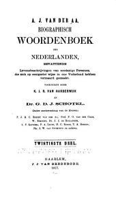 Biographisch woordenboek der Nederlanden: W