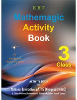 OLYMPIAD EHF MATH ACTIVITY BOOK CLASS 3 PDF