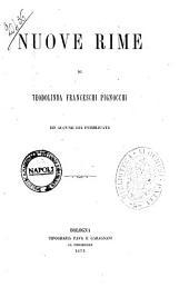 Nuove rime ed alcune già pubblicate di Teodolinda Franceschi Pignocchi