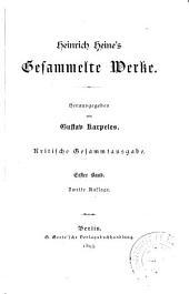 Heinrich Heine's gesammelte Werke: Band 1