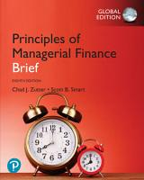 Principles of Managerial Finance  Brief  eBook  Global Edition PDF