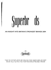 Superbrands PDF