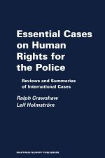 Essential Cases on Human Rights for the Police