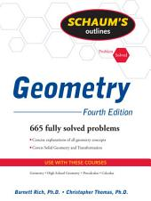 Schaum's Outline of Geometry, 4ed: Edition 4