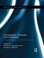 Commitment  Character  and Citizenship PDF