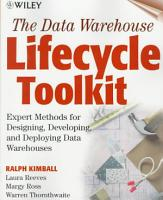 The Data Warehouse Lifecycle Toolkit PDF