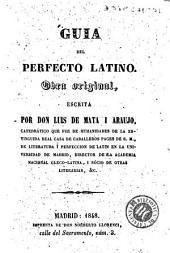 Guia del perfecto latino: obra original