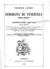Primer libro de geografía de Venezuela según Codazzi