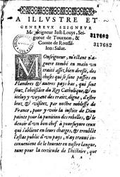 Commentaire premier et second... contenant le voyage du duc d'Albe en Flandres avec l'armée espaignole... [trad. par François de Belleforest]