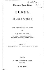 Burke: Select Works, Volume 2