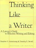 Thinking Like a Writer PDF