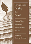 Psychologists Defying the Crowd PDF