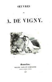 Oeuvres de A. de Vigny