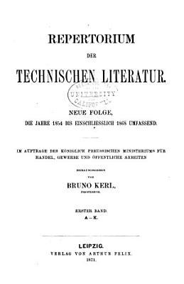 Repertorium der Technischen Journal Literatur PDF
