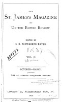The St  James s Magazine and United Empire Review PDF