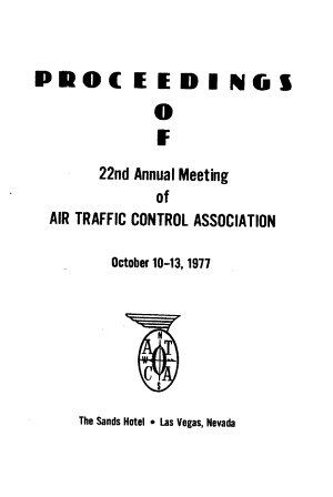 Proceedings of the Annual Air Traffic Control Association Fall Conference PDF