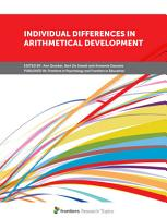 Individual Differences in Arithmetical Development PDF