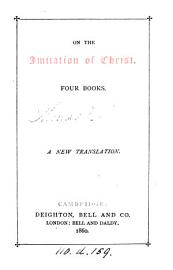 On The Imitation Of Christ  Four Books