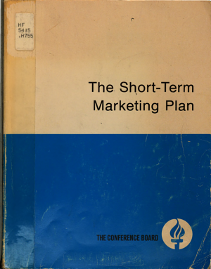 The Short term Marketing Plan