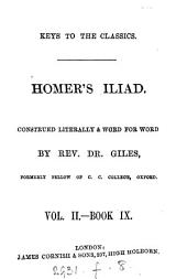 The Iliad, construed literally and word for word: by dr. Giles