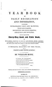 The Year Book of Daily Recreation and Information: Volume 1832